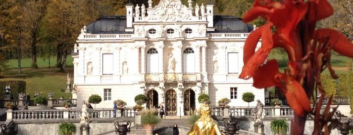 Schloss Linderhof und Venusgrotte is one of 100 обекта - Германия.