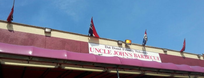 Uncle Johns Barbeque is one of Anthony Bourdain's.