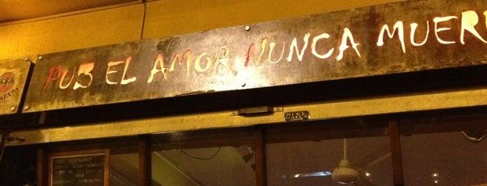 El Amor Nunca Muere is one of Bar.