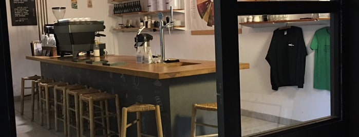 Nømad Coffee Lab & Shop is one of Barcelona coffee madness.