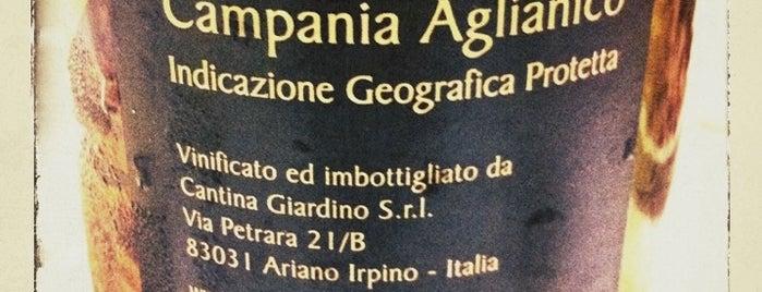 Cantina Giardino is one of Aequum Tuticum.