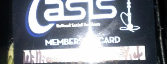 Oasis Liquid (Hookah Lounge) is one of Locais salvos de Molly.