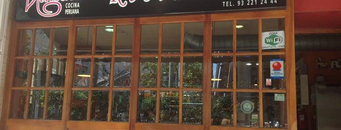 Ninoska Restaurante is one of De fuera.