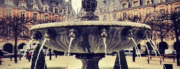Place des Vosges is one of Paris with Maddy.