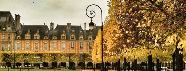 Place des Vosges is one of Guide to the best spots in Paris.