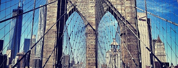 Brooklyn Bridge Promenade is one of NYC.