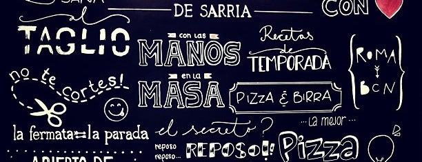 La Fermata de Sarrià is one of pizza places of world 2.