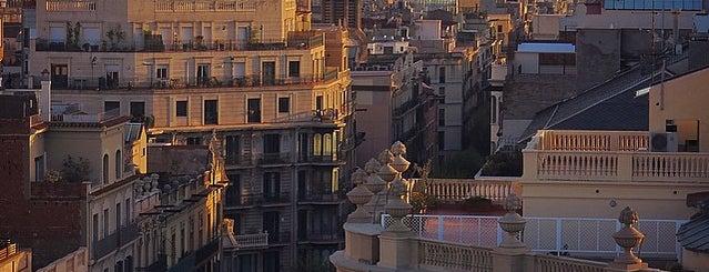 Setè Cel: terrassa de l'Hotel Amèrica is one of Patiさんの保存済みスポット.