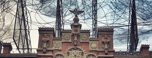 Fundació Antoni Tàpies is one of barcelona • art.