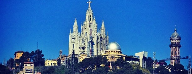 Temple Expiatori del Sagrat Cor is one of Barcelona.