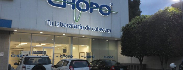 Laboratorios Chopo is one of Locais curtidos por Sandybelle.