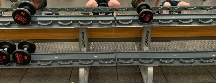 GoodLife Fitness Toronto Bloor and Bay is one of Yunus'un Beğendiği Mekanlar.