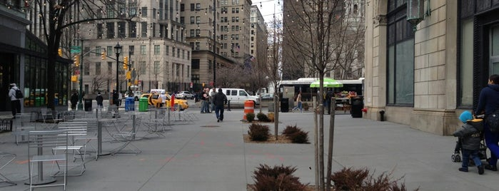 Willoughby Pedestrian Plaza is one of work.