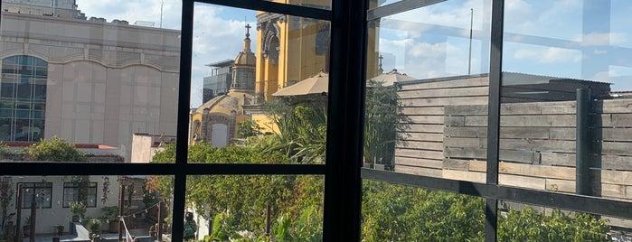 La Azotea is one of Mexico City.