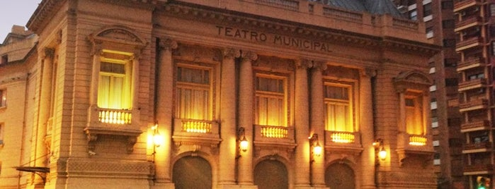 Teatro municipal is one of Ariel Hernanさんのお気に入りスポット.