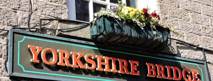 Yorkshire Bridge Inn is one of Tempat yang Disukai Kunal.