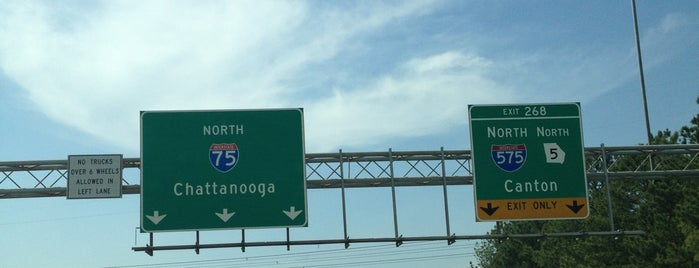 I-75/I-575 Interchange is one of The Chad.