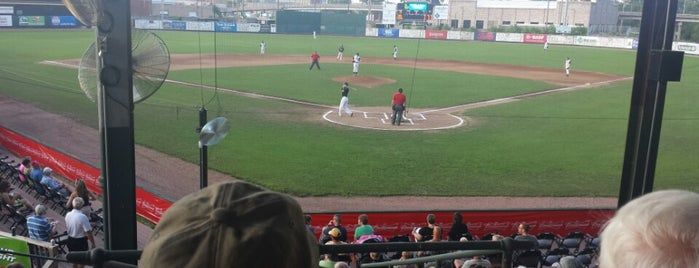 Clemens Field is one of Independent League Stadiums.