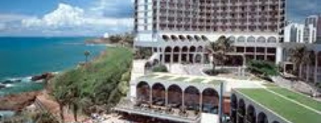 Bahia Othon Palace Hotel is one of Locais curtidos por Daniel.