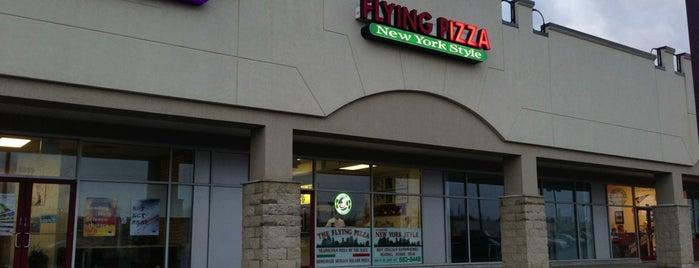 Flying Pizza is one of Tempat yang Disukai Bob.