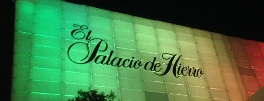 El Palacio de Hierro is one of Sergio M. 🇲🇽🇧🇷🇱🇷 님이 좋아한 장소.