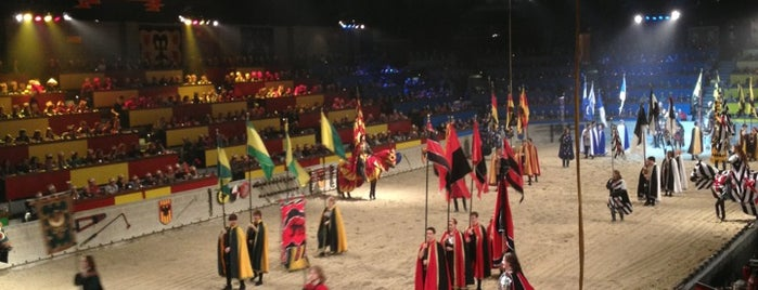 Medieval Times Dinner & Tournament is one of Favorites!. :).