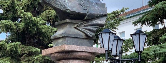 Памятник Адмиралу Ушакову is one of Lieux qui ont plu à Водяной.
