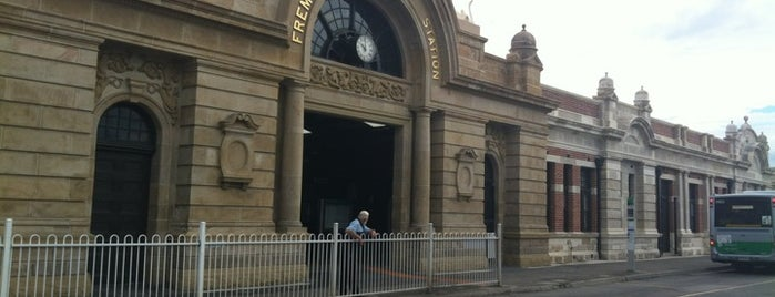 Fremantle Train Station is one of Railway stations visited.