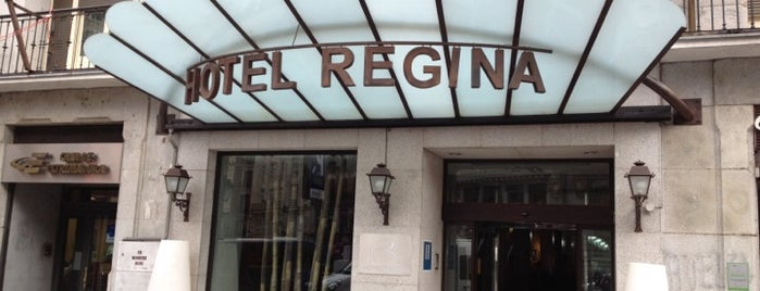 Hotel Regina is one of Madrid ♥ Bayswater Gin.