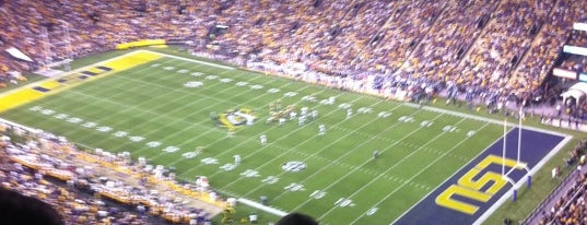 Tiger Stadium is one of SEC Football.