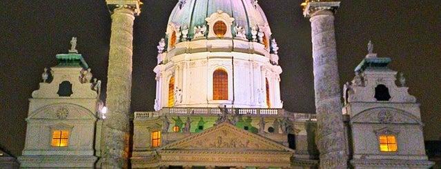 St. Charles's Church is one of Vienna, Austria.