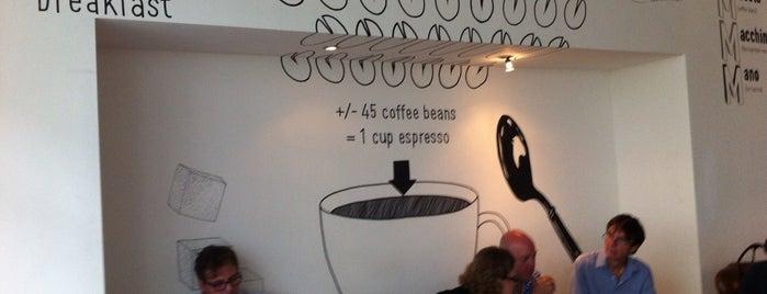 Coffeemania is one of Coworking in progress, Amsterdam.