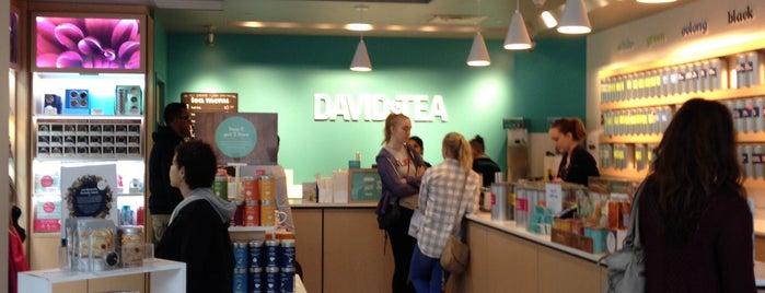 DAVIDsTEA is one of Любимые кофейные места в Нью-Йорке.