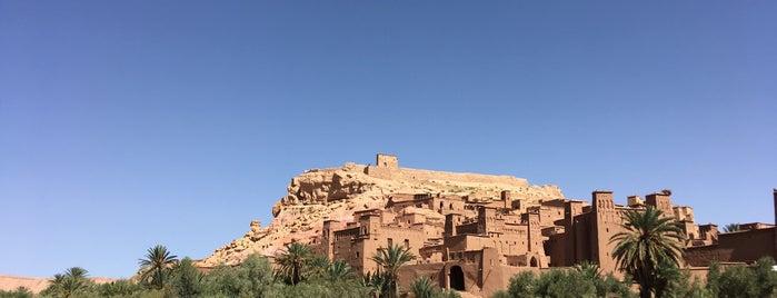 Ksar of Ait-Ben-Haddou is one of Μαρόκο.