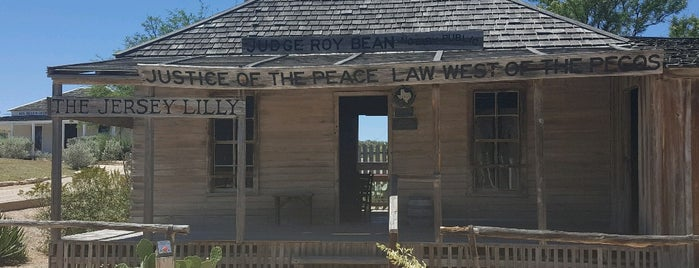 Judge Roy Bean Visitors Center is one of Texas / USA.