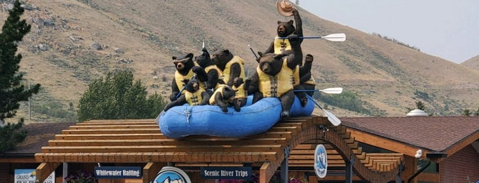 Dave Hansen Whitewater & Scenic River Trips is one of Wild West Travel - 2020.