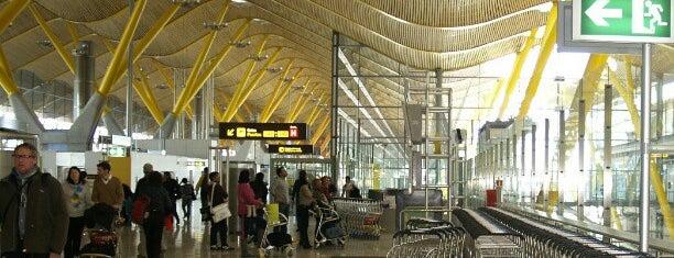 Madrid Barajas Uluslararası Havalimanı (MAD) is one of Airports of the World.