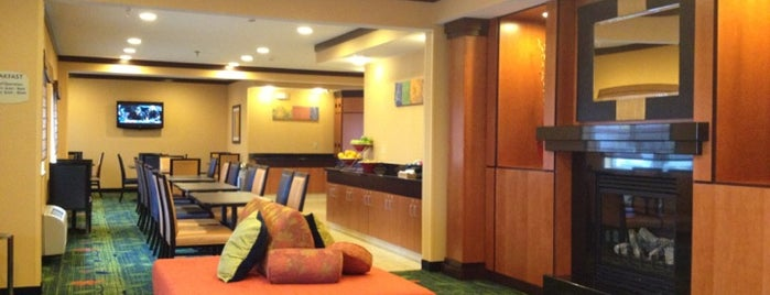 Fairfield Inn & Suites Fargo is one of Michael : понравившиеся места.