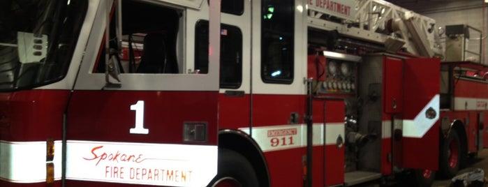 Spokane Fire Station 1 is one of Joey D's 50 Favorite Spokane Spots.