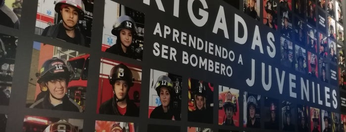 Museo De Bomberos De Santiago is one of Locais curtidos por Maria.