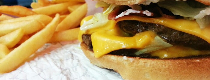 Knockout Burgers is one of Houston spots.