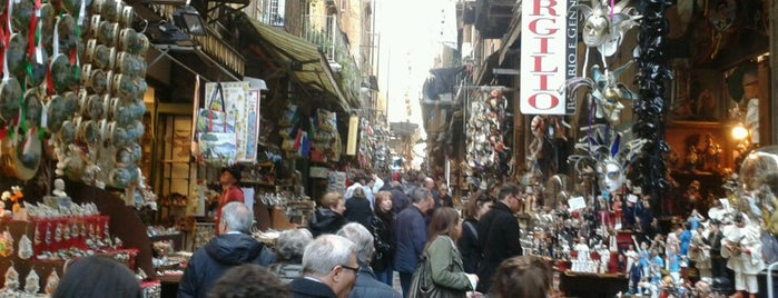 San Gregorio Armeno is one of Naples.