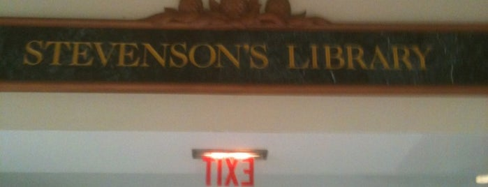 Stevenson's Library is one of Kauai To-Do's.