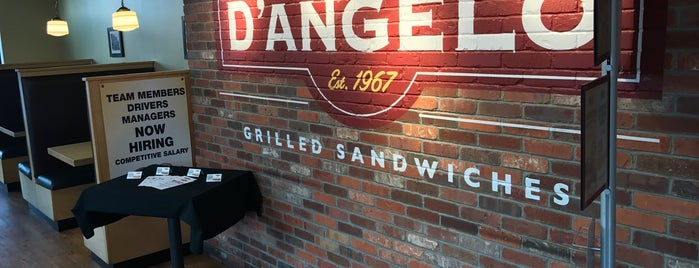 D'Angelo Grilled Sandwiches is one of Lugares favoritos de Howie.