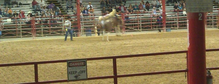 Bergeron Rodeo Grounds is one of ACTIVITIES.