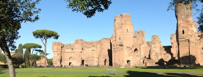 Thermes de Caracalla is one of Roma.