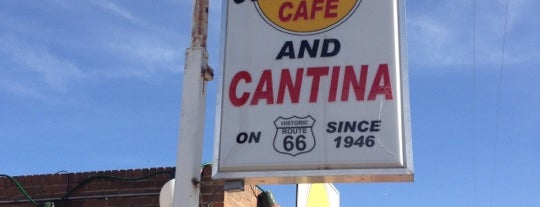 Golden Light Cantina is one of Man vs Food Spots Texas.