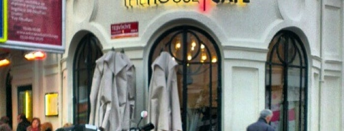 The House Cafe Corner is one of İstanbul.