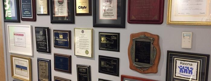 City/OMNI Television (Rogers Media) is one of Lee'nin Beğendiği Mekanlar.