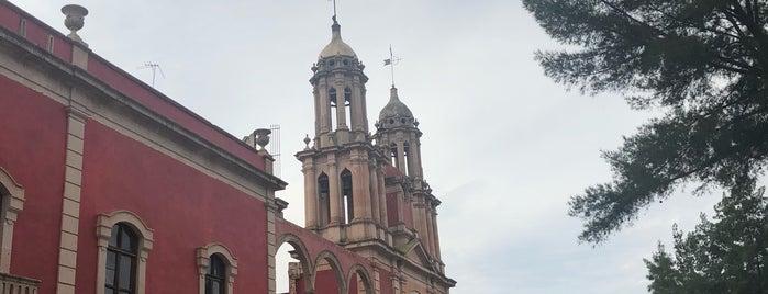Ex Hacienda de Gogorrón is one of Museos.